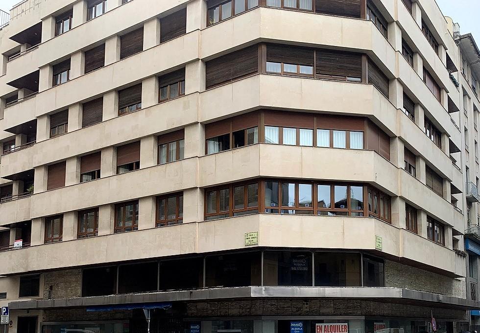 Cambio de ventanas en edificio
